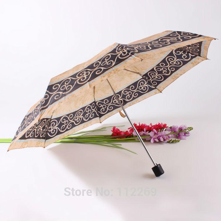 3 folding printing mini umbrella(China (Mainland))