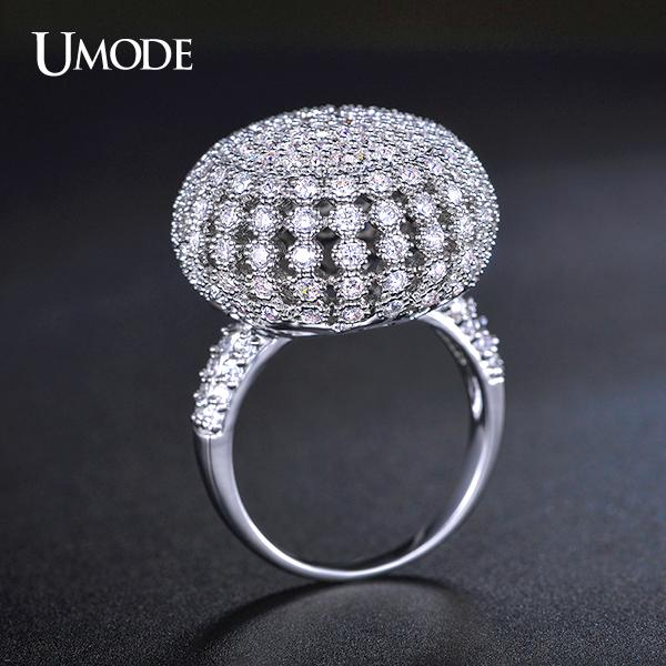 Кольцо UMODE Aneis UR0208 кольцо bao chun anillos 925 aneis jz10 bcjz10