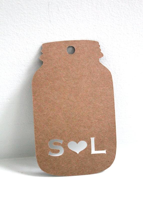 Personalized-Mason-jar-Gift-tags-Wedding-Favour-wishing-tree-tag-baby ...