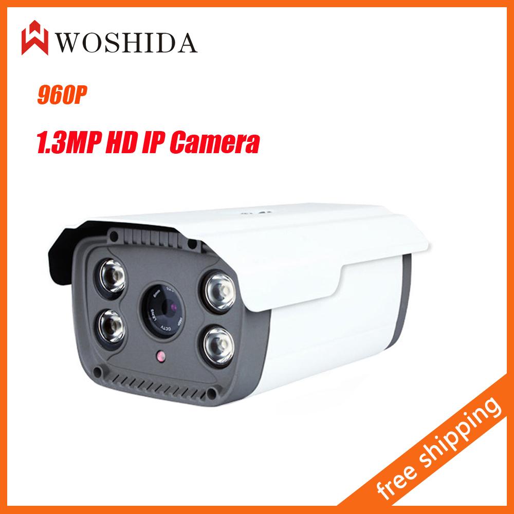 1.3MP 960P HD Network IP Camera IR Night Vision CCTV Security Camera Waterproof Onvif 3G WIFI Woshida(China (Mainland))