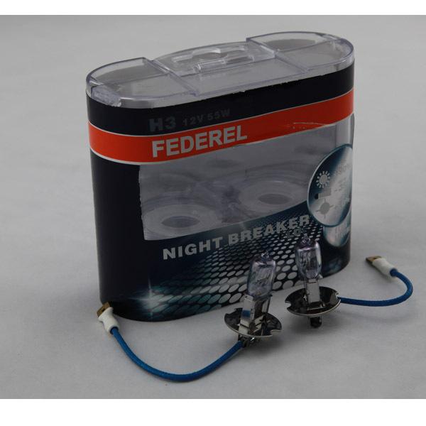 Night Breaker halogen xenon bulb H3 headlight lamp 12V 55W style AAA H3(China (Mainland))
