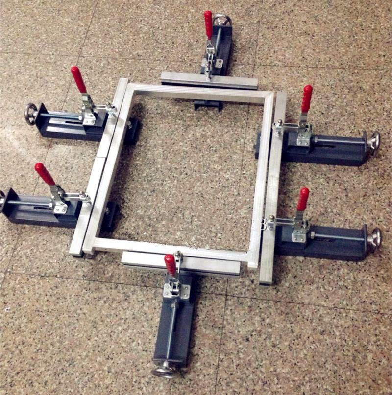 Screen Stretching Machine 6#, Manual Clamp/Chuck Stretcher, L600*W300mm, Manufacture Screen Printing Plate,Cast Steel(China (Mainland))