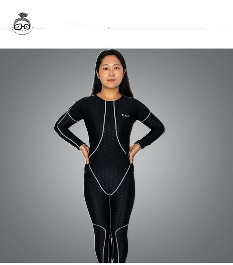 Traje De Baño Hombre Nuevo:nuevo-y-genial-traje-de-buceo-natación-traje-hombre-mujeres-traje-de