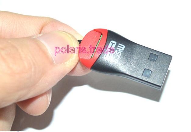 Кардридер 1 USB USB 2.0 TF 2 t/sd легко пользоваться школа эз складочном np100 wifi sd кардридер специальный считыватель
