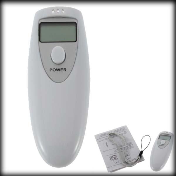 by DHL or EMS 500pcs Portable Breath Alcohol Analyzer,LCD Digital Alcohol Breathalyzer Breath Tester Analyzer(China (Mainland))