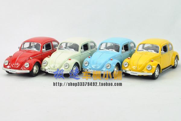 2015 1:32 Volkswagen Beetle 1967 Classic vw Cars Kids Antique Model Toys Car Classic Vintage Alloy Car Model Wholesale(China (Mainland))