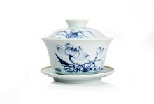 Kung fu tea set Chinese tea set quick cup gaiwan tea accessories puer tea tools handmade