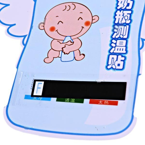 Lazydog Reusable No-Mercury Baby Infant Feeding Milk Bottle Thermometer Heat Indicator HBP-164800(China (Mainland))