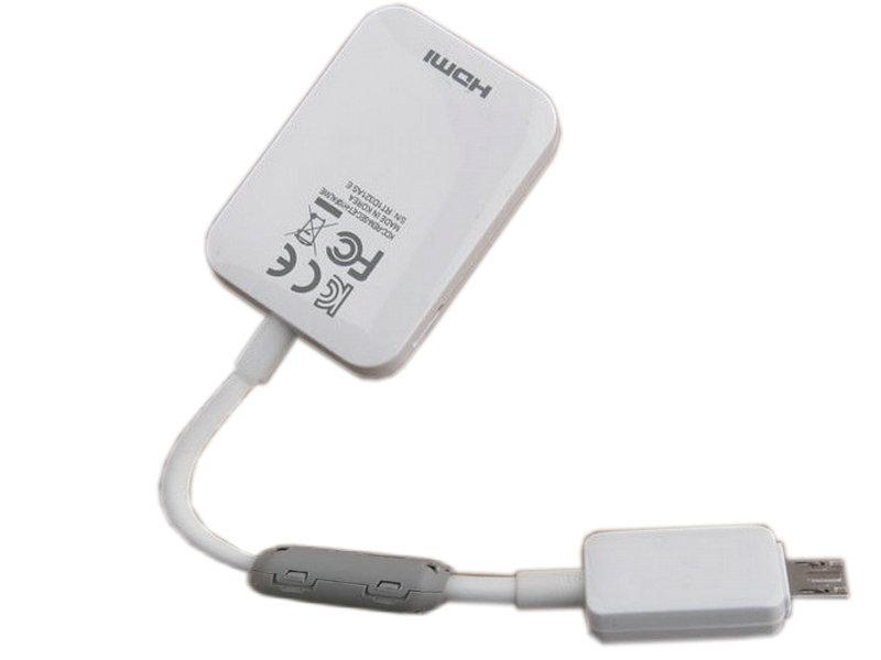 HDTV Micro USB To HDMI Adapter 1080P MHL 2.0(China (Mainland))