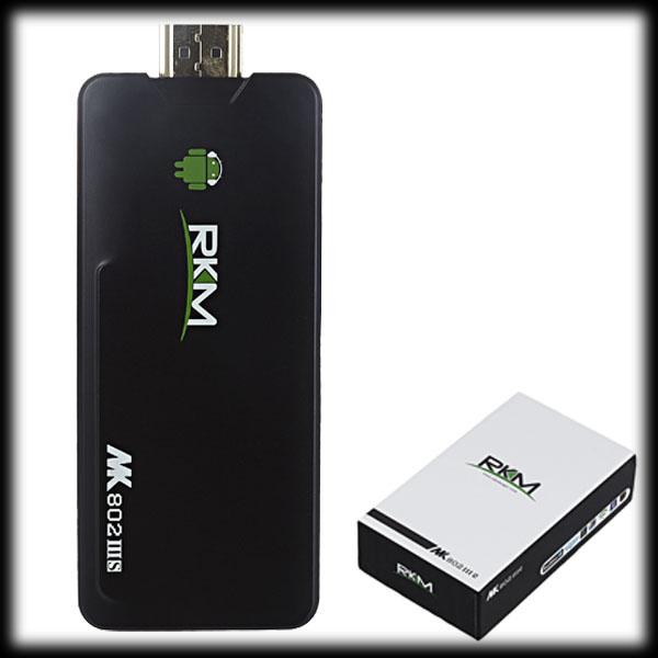 by dhl or ems 30pcs MK802 IIIS Mini PC Blue Tooth Mobile Remote Control RK3066 Cortex A9 1GB RAM 8G ROM HDMI TF Card(China (Mainland))