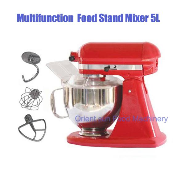 multifunctional electric stand food mixer machine 5L(China (Mainland))