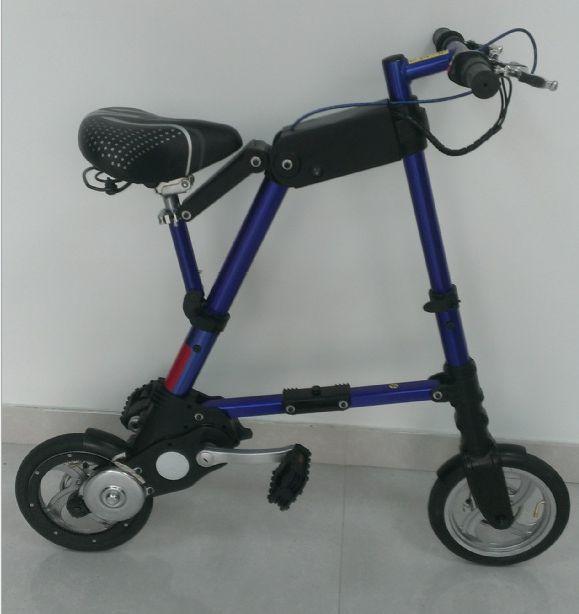 A Bike pro folding e bike folding electric bike mini bicycle foldable ebike