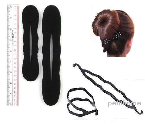 Bun Style Hair Pieces Hair Styling Donut Bun