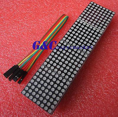 5PCS MAX7219 dot matrix module microcontroller module 4 in one display(China (Mainland))