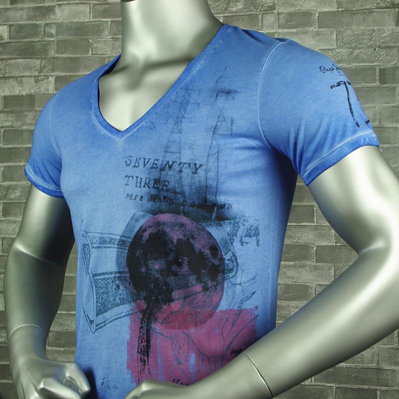 Мужская футболка PEPE JEANS LONDON pepe v/100%