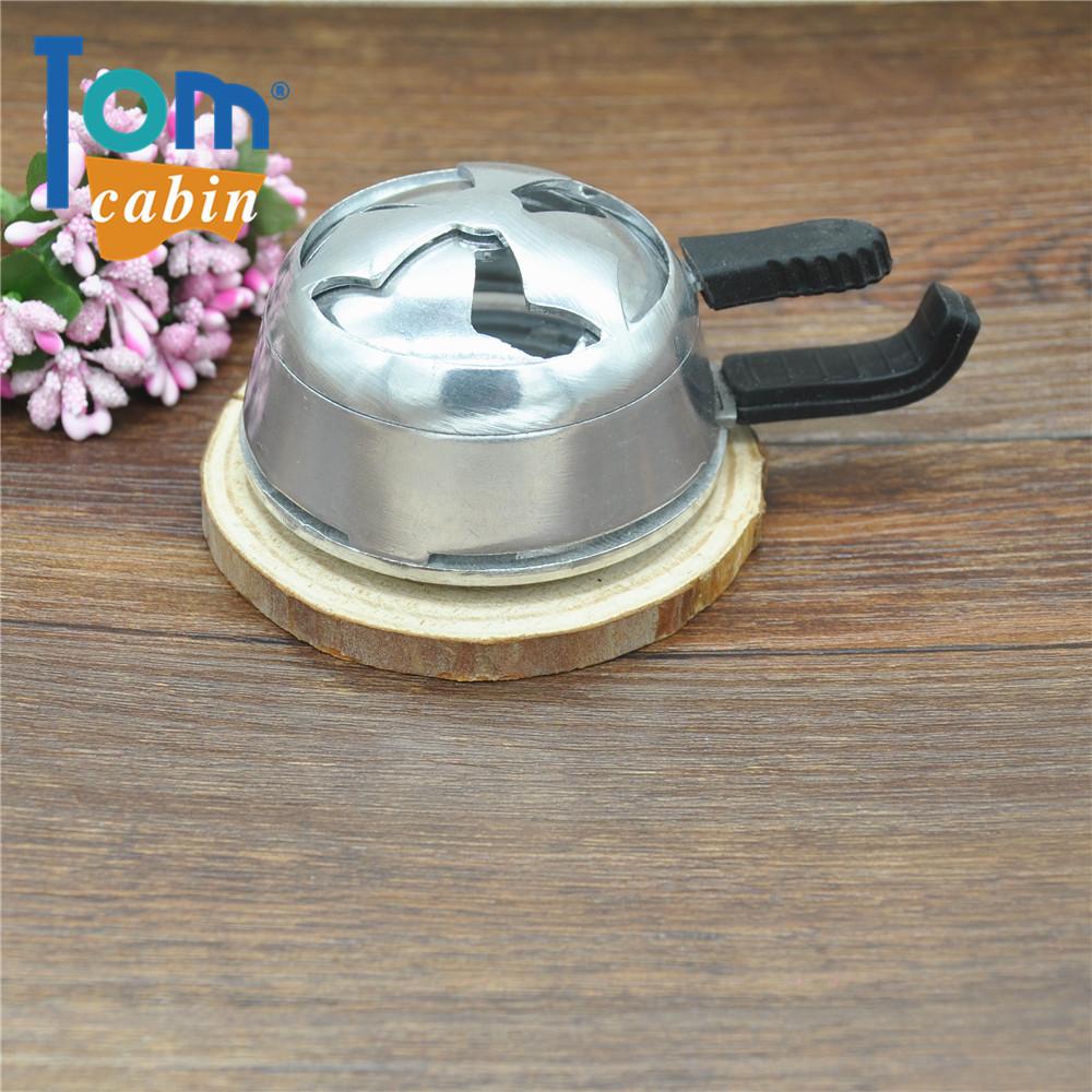 10pc/lot shisha hookah accessories hookah bowl charcoal holder with two handles hookah head heat keeper shisha head stove burner(China (Mainland))