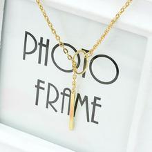wholesale pendant necklace New Style Fashion Femal Simple Short Necklace Pendant Ornament for Women girl Wedding