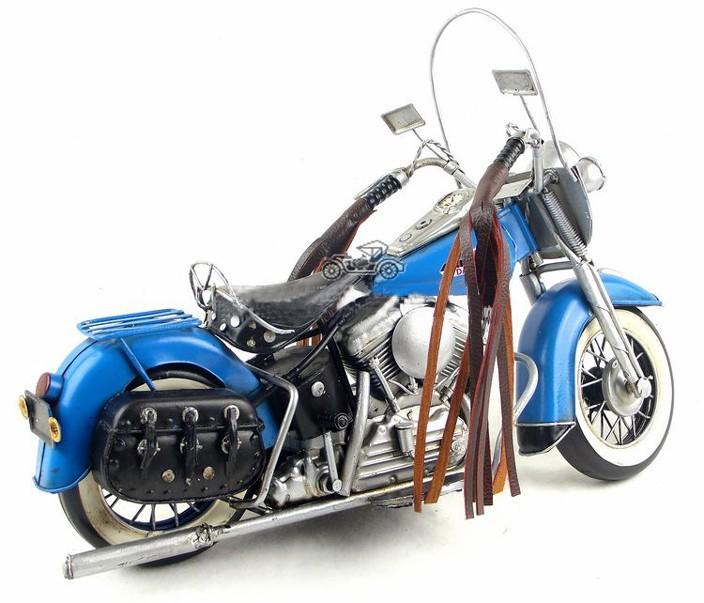 Free Shipping Handmade Iron FLT Antique Motorcycle Model 1966 Handmade kids toys car model(China (Mainland))