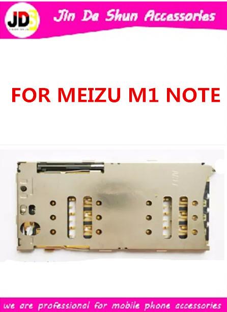 10PCS/LOT For Meizu M1 Note M463M M463U MEILAN MEI LAN NOTE SIM Card + SD Card Sim Card Reader Holder Slot Tray Free Shipping