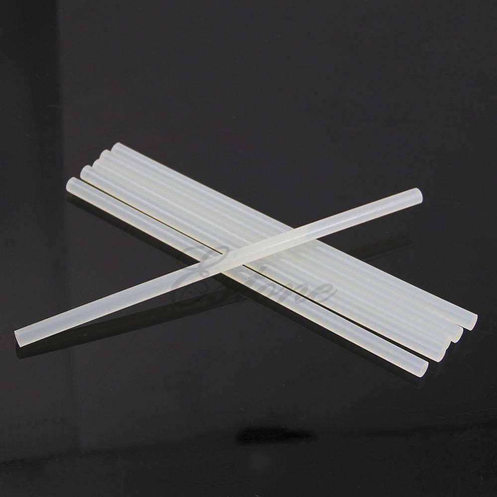 C18 New Hot 6Pcs 7mm Hot Melt Glue Sticks For Electric Glue Gun Craft Album Repair