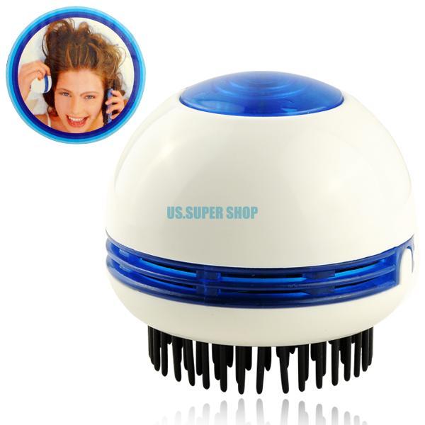 Electric Hair Scalp Head Massager Vibrating Comb Brush Promote Blood Circulation EG7067(China (Mainland))