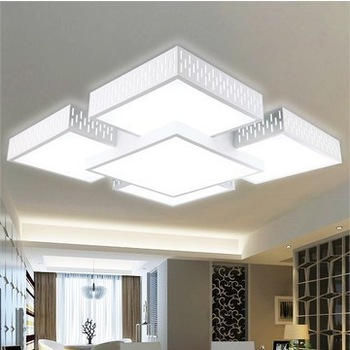 groothandel led verlichting plafond verlichting stad rechthoekige lamp ...
