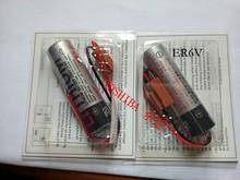 100% оригинал новый для TOSHIBA ER6V 3.6 В 2000 мАч ER6VC119B плк батарея с черным разъемом бесплатная доставка