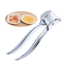 Brand stainless steel Garlic Hand Press Presser Crusher  Ginger Squeezer Slicer Masher Kitchen Tool(China (Mainland))