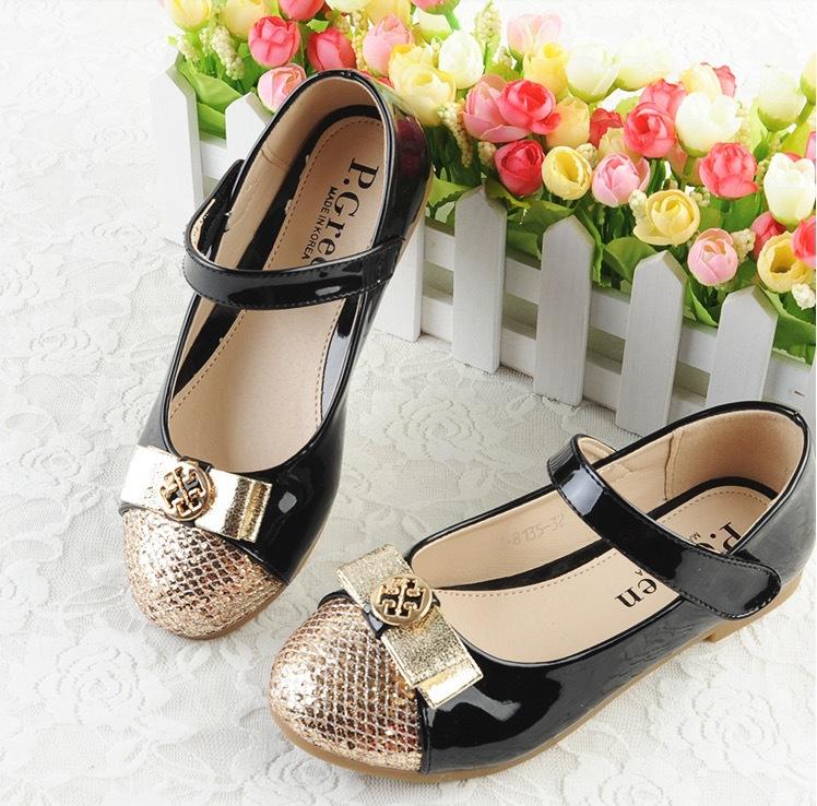 Кожаная обувь для девочек &