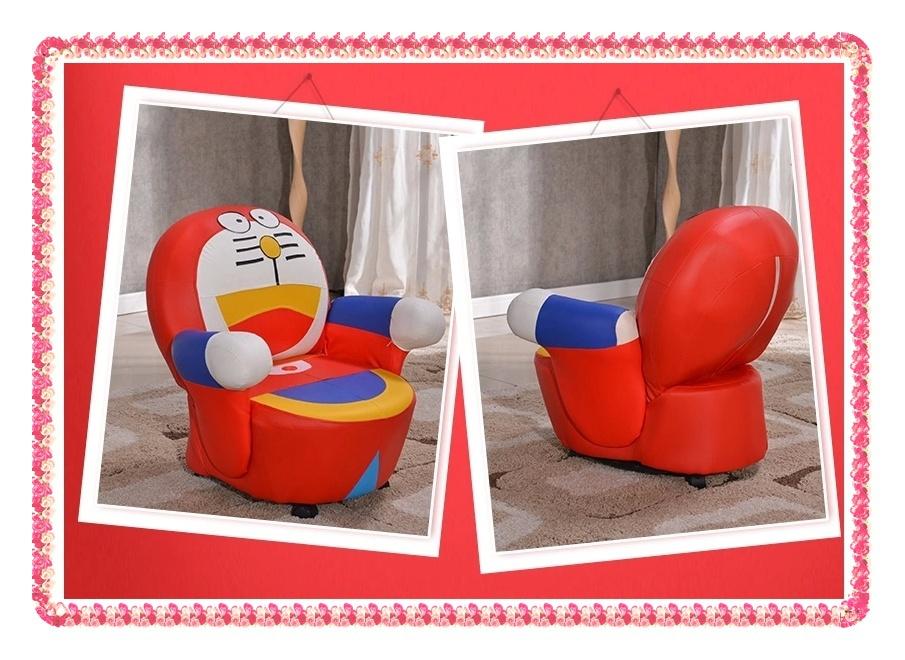 Fashion cartoon kids sofa imitater leather single sofa hot selling(China (Mainland))