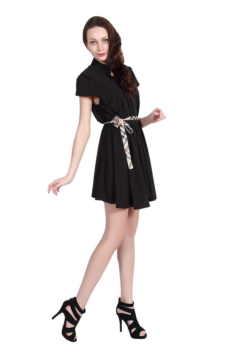 Elegant Name Brand BUBOREEY Summer New Dress Plus Size Women Dresses Fashion
