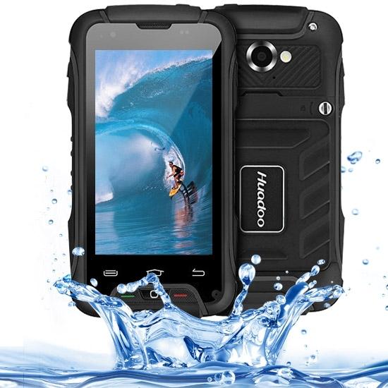 Original Huadoo V3 1GB+8GB 4.0'' 3G Android 4.4 Waterproof /Shockproof /Dustproof Mobile Phone MTK6582 1.3GHz Quad-core Dual SIM(China (Mainland))