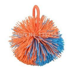 free shipping 3 pieces ogo sports jugging Sandbags ball/Bouncing shuttlecock rubber ball/fluffy ball(China (Mainland))