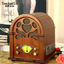 Old radio vintage radio classical full antique wool desktop radio