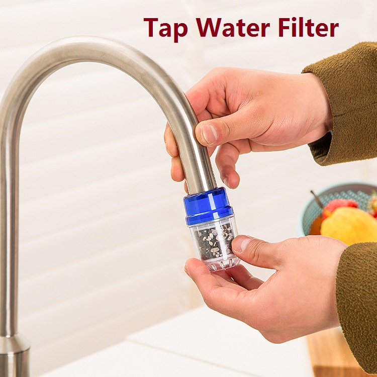 Activated Carbon Tap Water Water Purifier Use For Kitchen Faucet Tap Water Filter Purifier 1PC(China (Mainland))