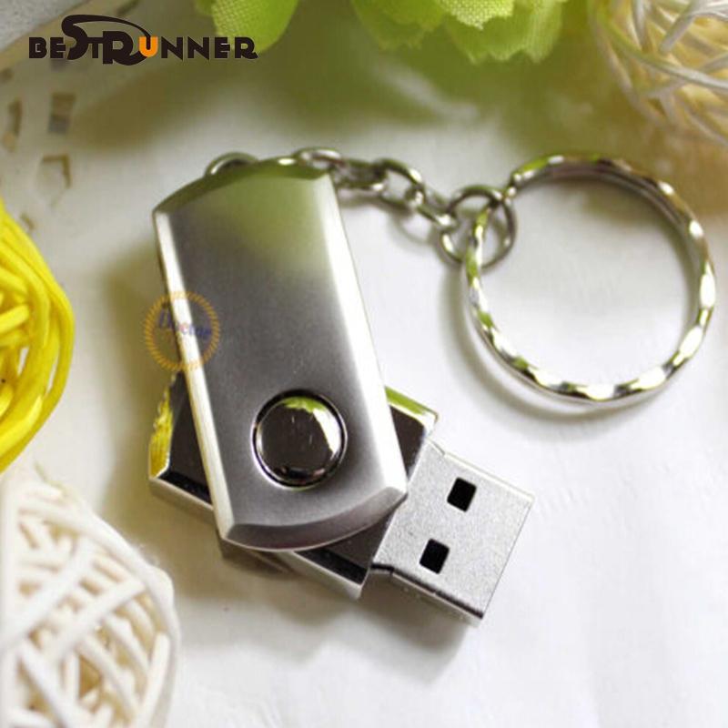 NEW Stainless Steel USB 2.0 Flash Drive Memory Stick Pen Drive Silver Usb Pen Drive 8gb Pen Drive Camera Flash Memory otg usb(China (Mainland))