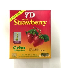 Philippines Food 7d dried strawberries boxed 100g dried fruit strawberry slices preserved fruit