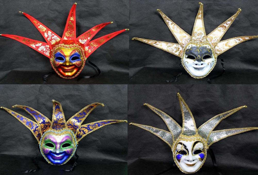 5pcs/lot Hosale paintings venice mask phantom of the opear mask mascaras venecianas con palo free shipping(China (Mainland))