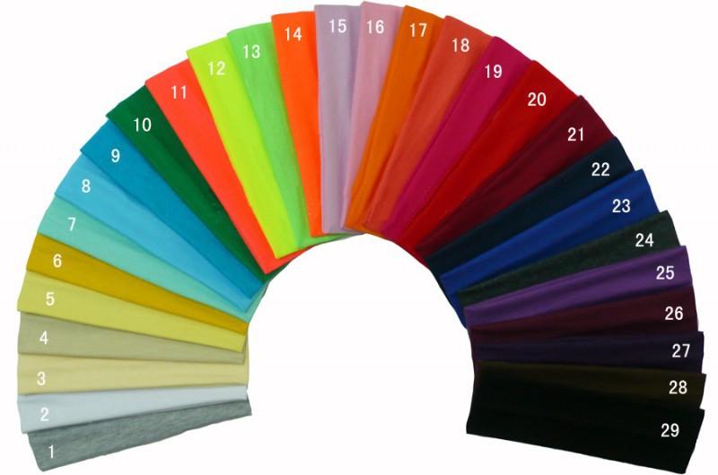 20 colors new women fashion Elastic Headband Sports Yoga Accessory Dance Biker Wide Headband Stretch Ribbon Cotton Hairband(China (Mainland))