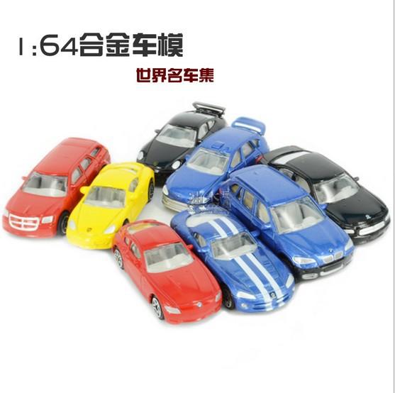 2015 New 1 pcs 1:64 metal wagon Rushed Mini super sports car Car Model Educational baby kids Toys Children gift(China (Mainland))