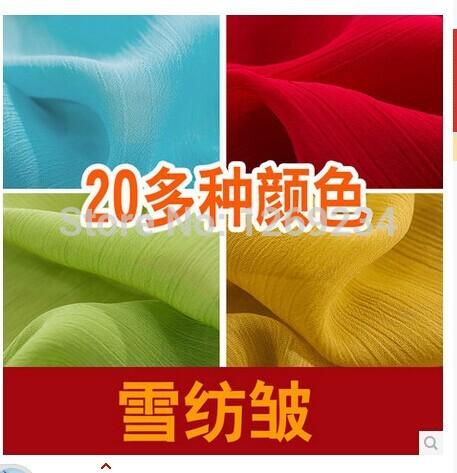Crepe Fabric uk Fabric Crepe Chiffon Q36