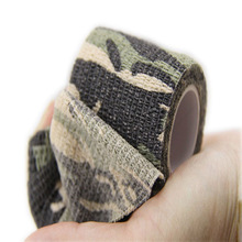 5cmx4.5m Army Camo Outdoor Hunting Shooting Tool Camouflage Stealth Tape Waterproof Wrap Durable Hotsale