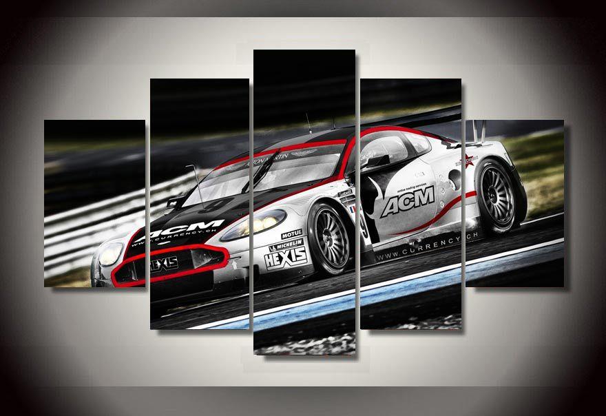Online kopen wholesale raceauto schilderij uit china raceauto schilderij groothandel - Trendy kamer schilderij ...