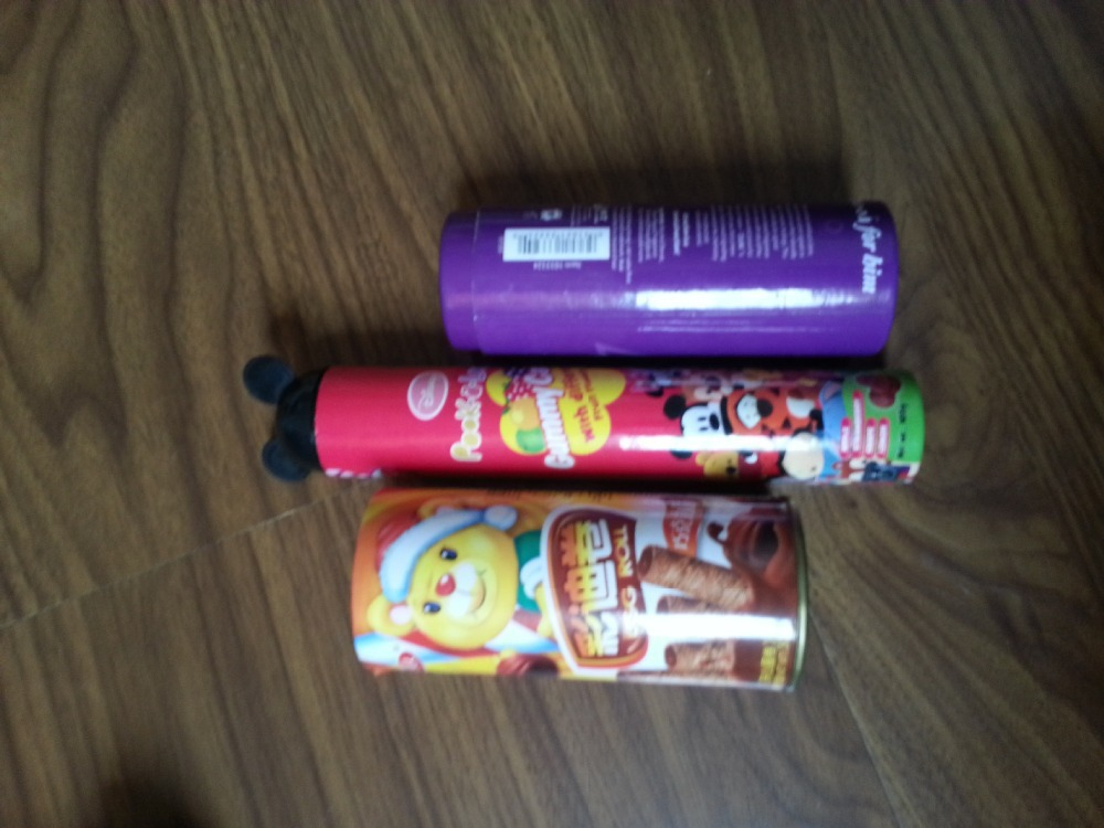 Fashionable lovely paper tube for food packaging(China (Mainland))