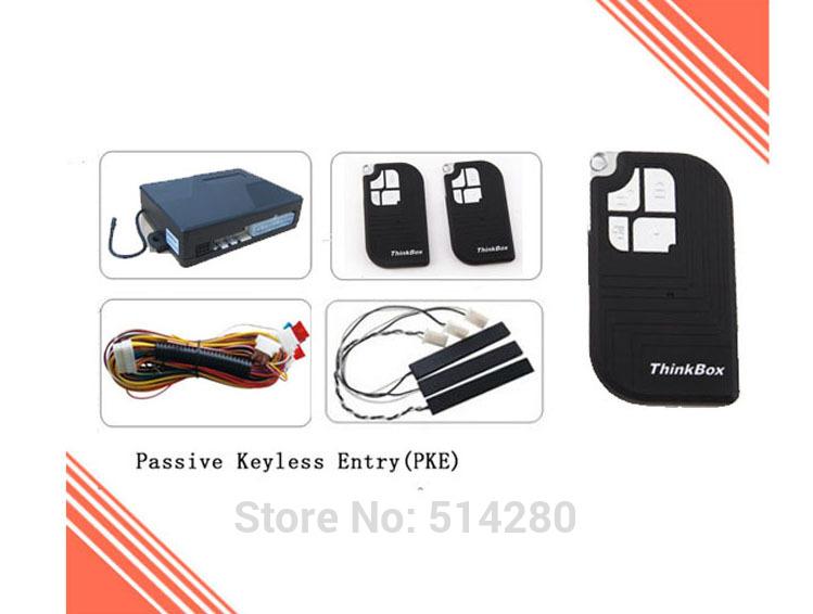2015 New PKE-003 car passive keyless entry system, PKE car alarm system, auto lock and unlock, auto arm and disarm(China (Mainland))