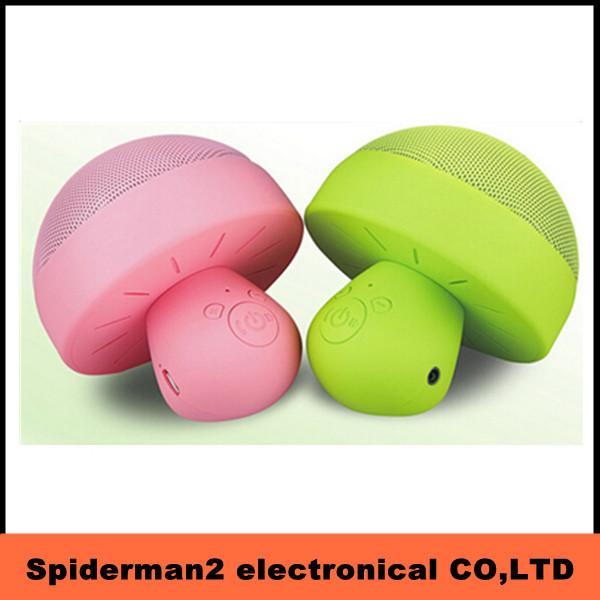 60pcs Led flash mushroom bluetooth creative wirless speaker(China (Mainland))