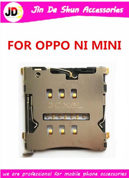 50PCS/LOT For OPPO N1 MINI N5117 Sim Card Reader Holder Slot Tray Free Shipping