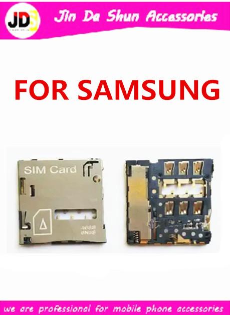200PCS/LOT For Samsung Galaxy S4 i9500 i9505 i9508 i9502 i959 i337 i545 l720 r970 Sim Card Reader Holder Slot Tray Free Shipping