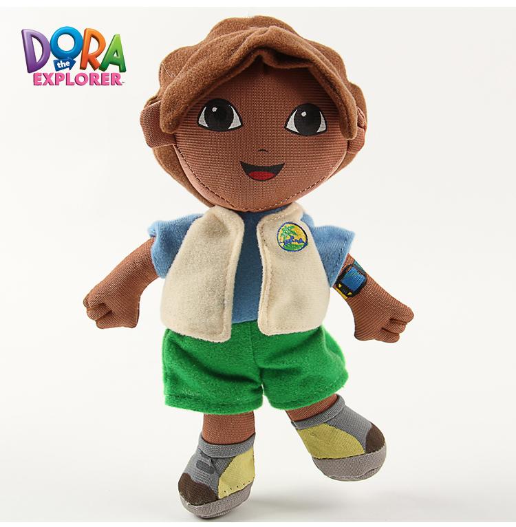 Dora the Explorer Go Diego Go Diego Plush Dolls Toy 18cm Retail 1Pcs 20cm/ 30cm High Quality Soft Plush have stock(China (Mainland))