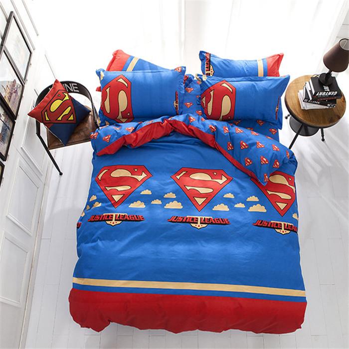 gambar 10 desain kamar tidur superman bagus dan keren